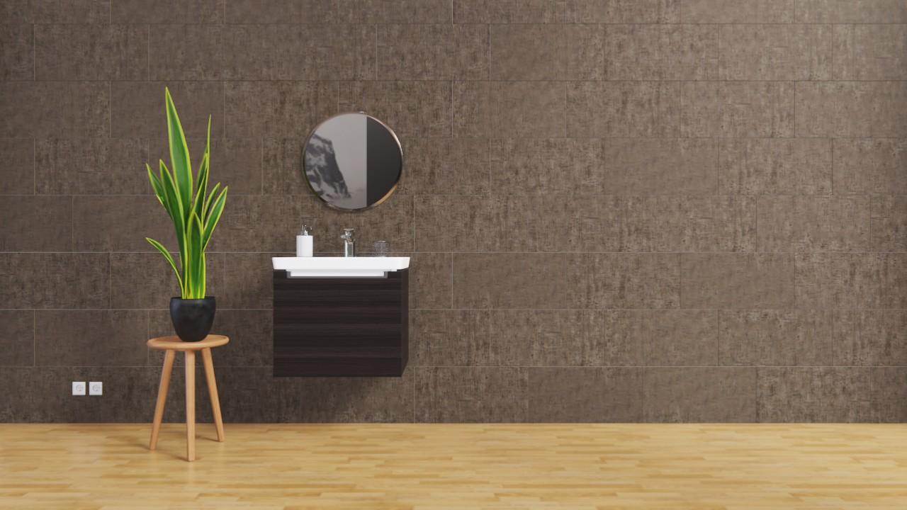 Boden Und Wandfliesen Anthrazit Matt Cement 30 X 60 Cm Feinsteinzeug Interio