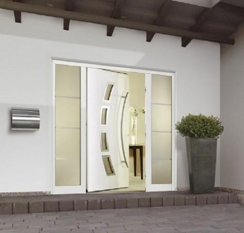 seitenteil f r aluminium haust ren topcomfort h rmann deinet. Black Bedroom Furniture Sets. Home Design Ideas