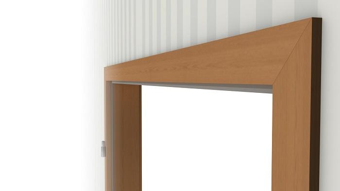 zarge buche echtholzfurniert eckige kante vz 6 we t ren deinet. Black Bedroom Furniture Sets. Home Design Ideas