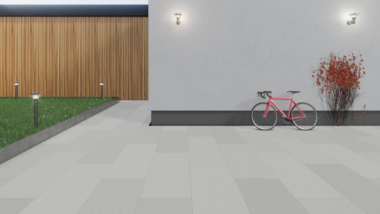 Bodenfliesen Next White Strukturiert Nextone 200 x 200 x 20 cm ...
