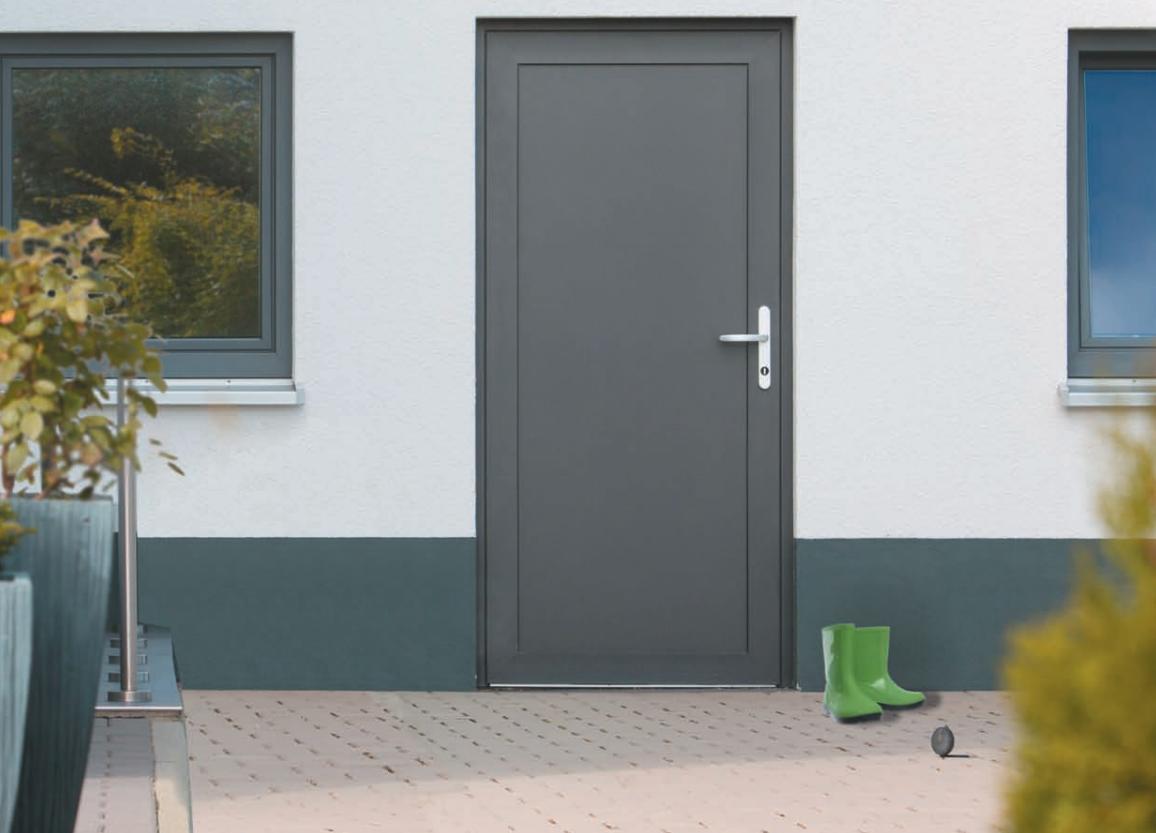 Beliebt NT A 2 Holz Nebeneingangstür ohne Glasausschnitt - Kneer » DeineTür.de UJ09