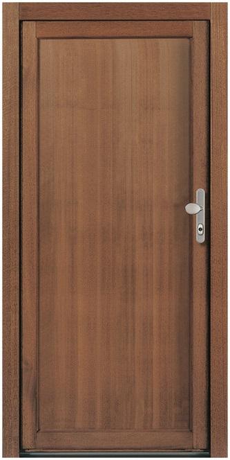 Bekannt NT A 2 Holz Nebeneingangstür ohne Glasausschnitt - Kneer » DeineTür.de OW75