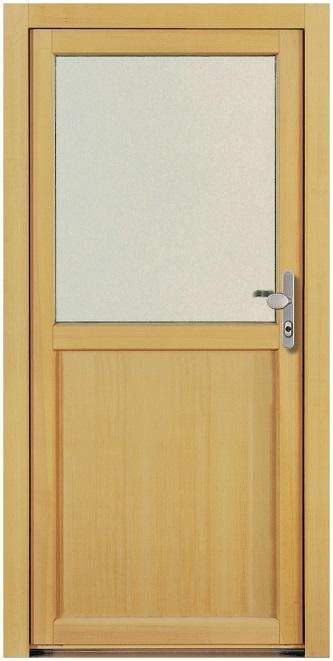 Gut gemocht NT A 3 Holz Nebeneingangstür mit Glasausschnitt - Kneer » DeineTür.de KB08