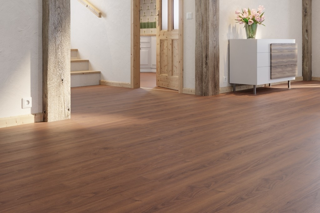 Fußboden Trittschalldämmung ~ Nussbaum 1 stab laminatboden classic lc 75 s 6440 meister
