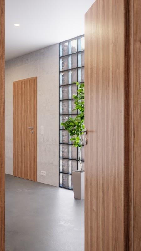innent r set nussbaum cpl t r mit zarge und dr cker deinet. Black Bedroom Furniture Sets. Home Design Ideas