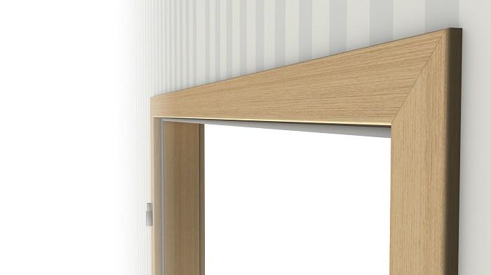 innent r set eiche roheffekt cpl t r mit zarge und dr cker deinet. Black Bedroom Furniture Sets. Home Design Ideas