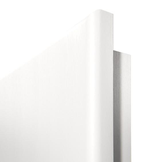 Häufig Innentür-Set Esche weiß CPL Tür mit Zarge und Drücker » DeineTür.de DI69