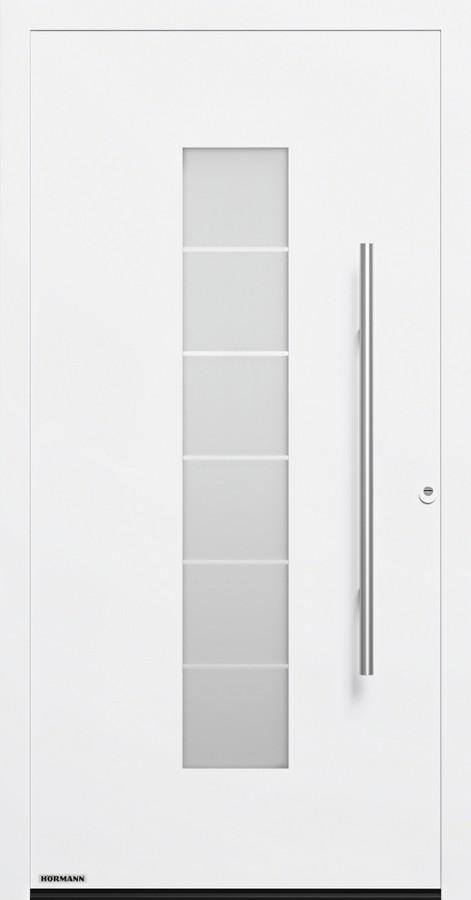 Motiv 504 Aluminium Haustur Thermosafe Mit Glasausschnitt Hormann