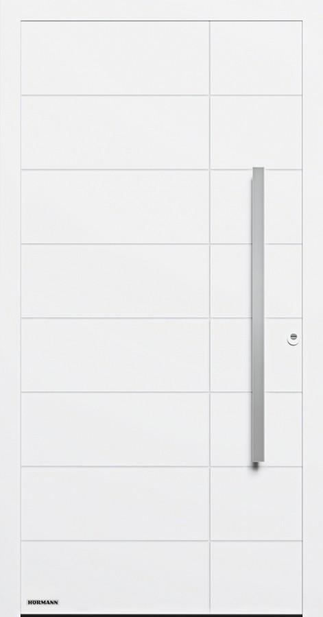 Motiv 862 Aluminium Haustur Thermosafe Ohne Glasausschnitt Hormann