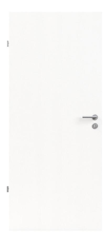 Bevorzugt Innentür-Set Esche weiß CPL Tür mit Zarge und Drücker » DeineTür.de WB25