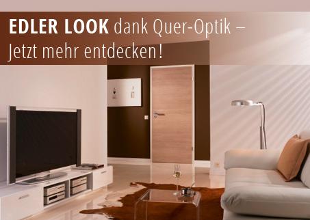 Innentüren, Zimmertüren, glatt, CPL, , Holzdekor, Queroptik, Querstreifen, robust