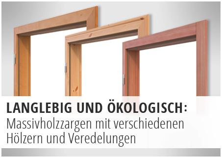Zargen, Massivholz, Landhaus, Echtholz