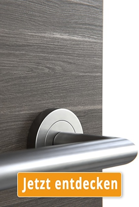 CPL-Tür mit Holzoptik Eiche Anthrazit