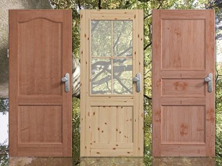 Massivholz, Wohnungseingangstür, Echtholz, Eiche, massiv, online, kaufen
