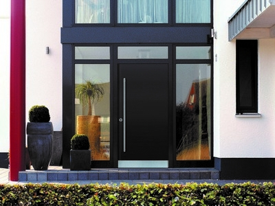 Milieubild einer Haustür
