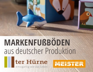 Fussboden, Made in Germany, Markenqualität, MEISTER, ter Hürne