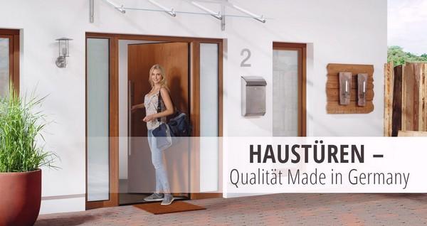 DEINE TÜR, Haustüren, Alu, Holz, Kunststoff, günstig