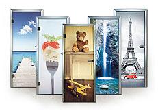 Ganzglas-Innentüren, Bilder, Bildmotive, Foto