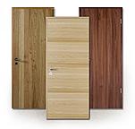 Brandschutz-Tür, Echtholz-furniert, Furnier