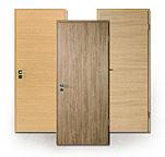 Schallschutz-Tür, CPL, Laminat