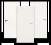 Schallschutz-Tür, weiß