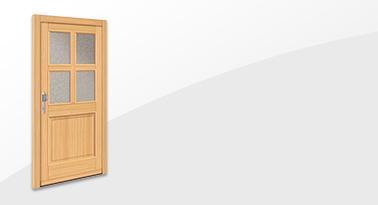Holz-Haustür HT 1129 von Interio