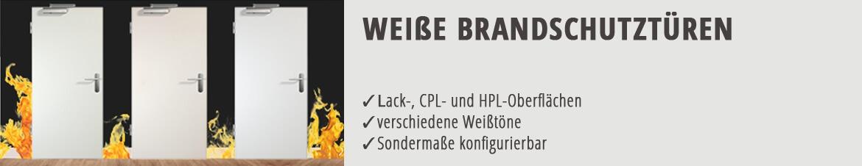 Brandschutztür, Funktionstür, weiß, CPL, Weißlack, robust, günstig