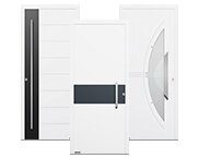 Moderne Aluminium Haustüren