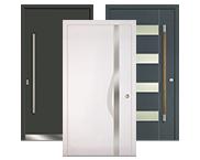 Aluminium-Holz-Haustüren von Kneer