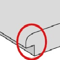 CPL Türen Detail Qualität Postforming Kante Technik