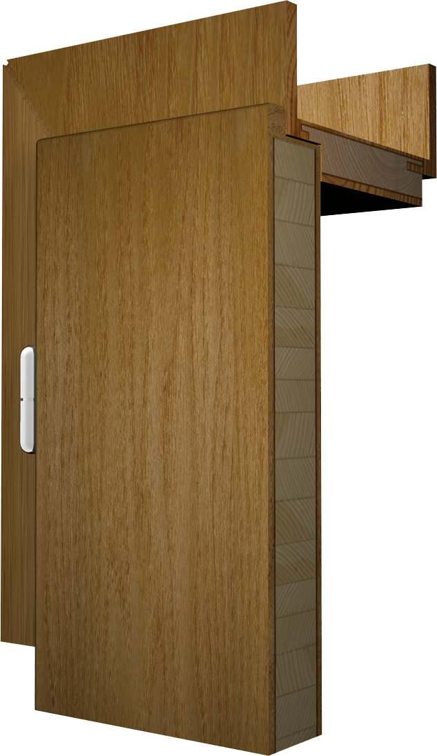 Aufbau von Massivholztüren und -zargen | Türen-Wiki Wissen
