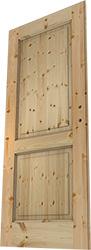 Massivholztür, Bau, Holztür, zusammengesetzt