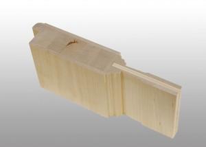 Beispiel Massivholztür aus Birke