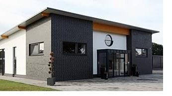 Der Firmensitz von Glastürenhersteller Erkelenz