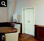 zwei flügel innentüren zimmertüren weiß füllung elegant stiltür weisslack