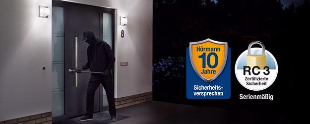 Hörmann 10 Jahres Sicherheitsversprechen