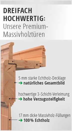produktvorteile massivholztür
