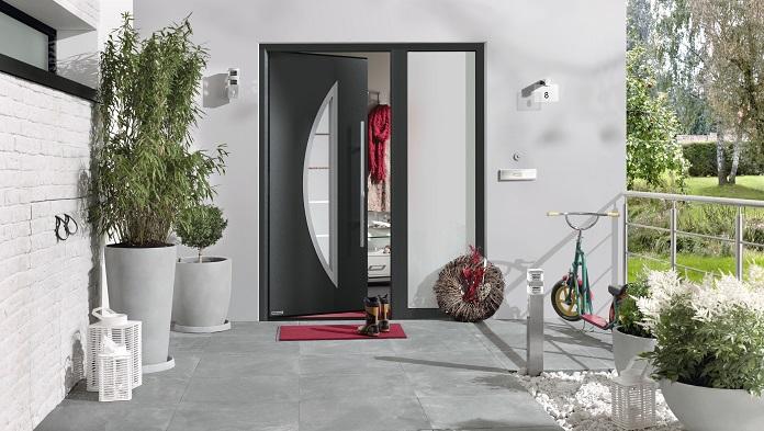 Aluminiumhaustür Thermo Safe Motiv 45