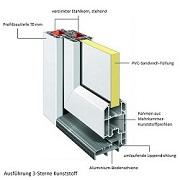 Möglicher Aufbau einer Kunststoff-Haustür: Acolo von interio