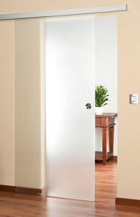 schiebet ren aus glas und holz. Black Bedroom Furniture Sets. Home Design Ideas