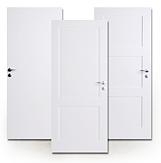 Weißlack-Türen, Massivholz, hochwertig, Premium
