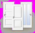 Weißlack, Zimmertür, Finesse, Landhaus, Lebo
