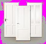 Weißlack, Zimmertür, Stil Massiv, Landhaus, Jeld-Wen