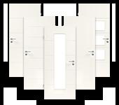 Weißlack, Zimmertür, Luana, Lebo