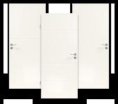Weißlack, Zimmertür, Light, Lebo