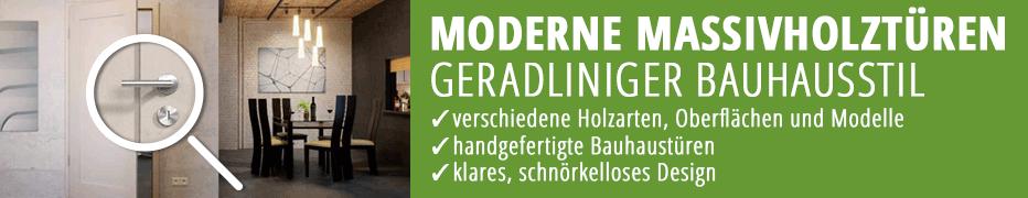 Massivholztür, moderne Innentüren, Bauhausstil, Premium, hochwertig, handgefertigt