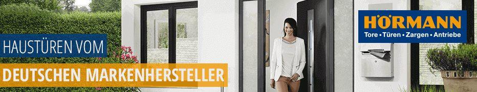 Haustüren von Hörmann, deutsche Markenqualität, hochwertig, funktional, innovativ