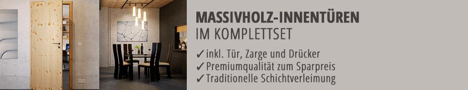 Komplettset, Massivholztür, im Set, mit Rahmen, mit Zarge, Landhaustür, Echtholz-Zimmertür, günstig, online kaufen
