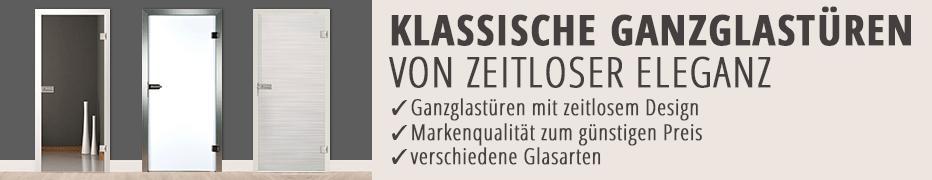 Ganzglas-Innentüren, klassisch, Zimmertüren, günstig