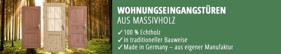 Wohnungseingangstüren, Eingangstür, Massivholz, Echtholz, Doppelfalz, hochwertig, Made in Germany